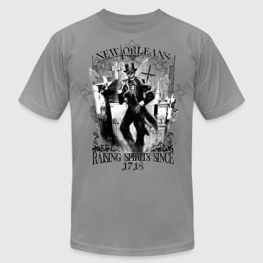 Haunted New Orleans T-shirt - Men's Fine Jersey T-Shirt