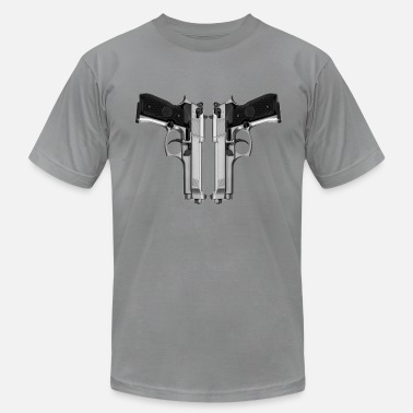 Handgun Love HandGuns - Men's  Jersey T-Shirt
