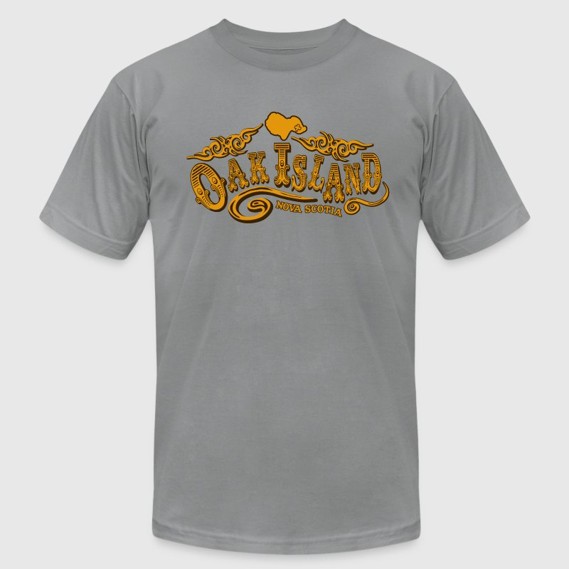 Oak Island Saloon - Men's Fine Jersey T-Shirt