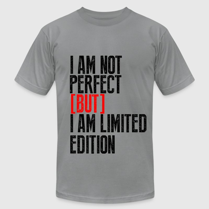 I am Not Perfect - Men's Fine Jersey T-Shirt