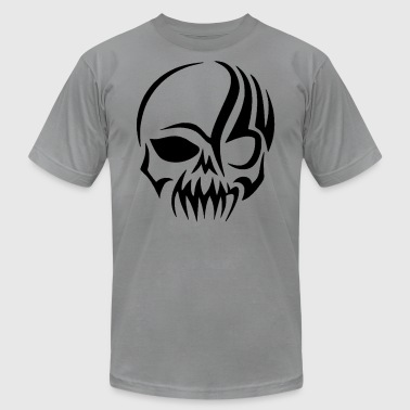 Tribal Skull - Men's Fine Jersey T-Shirt