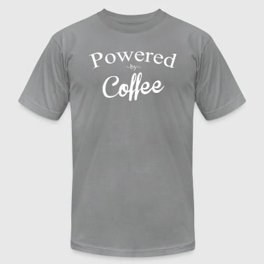 Powered By Coffee Powered By Coffee - Men's Fine Jersey T-Shirt