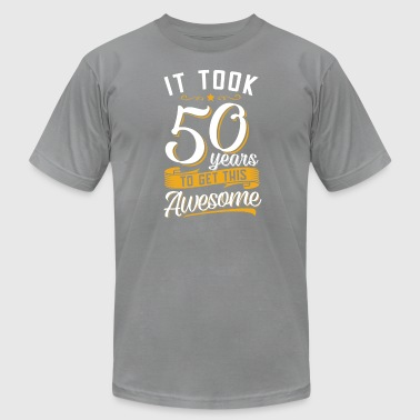Awesome 50th birthday tshirt and gift - Men's Fine Jersey T-Shirt