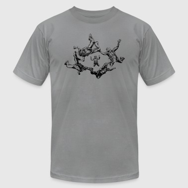 skydivers - Men's Fine Jersey T-Shirt