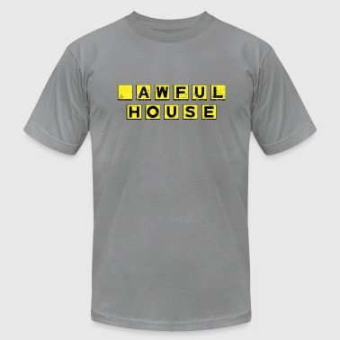 Aws Awful House - Men's Fine Jersey T-Shirt