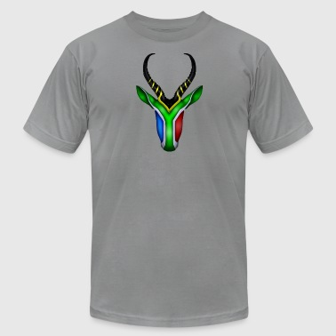 Springbok Flag - Men's Fine Jersey T-Shirt