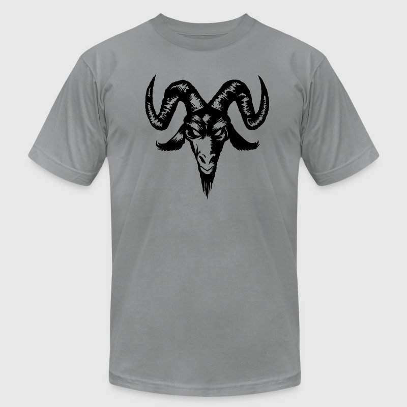 Goat Head - Men's Fine Jersey T-Shirt