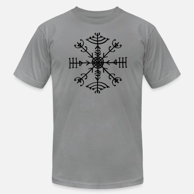 Protective Symbol Veldismagn, Icelandic Rune, Protection Symbol - Men's  Jersey T-Shirt