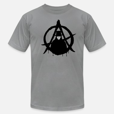 Anonymous Freedom Of Expression Anonymous Vendetta (only) 2c  - Men's Jersey T-Shirt