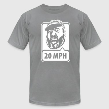 Joe Says 20 MPH - Men's Fine Jersey T-Shirt