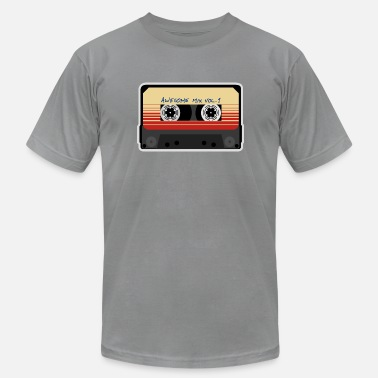 Guardians Mix Tape Awesome Vol.1 - Men's  Jersey T-Shirt