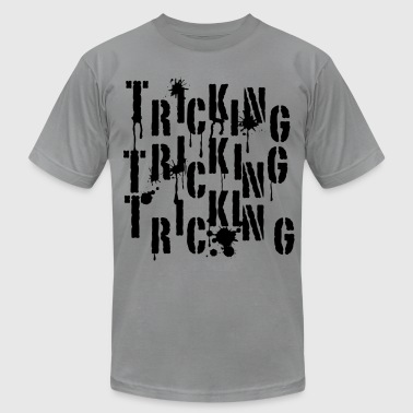 Tricking Graffiti - Men's Fine Jersey T-Shirt
