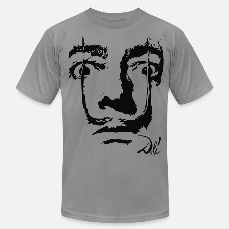 Cool T-Shirts - Dali  - Men's Jersey T-Shirt slate