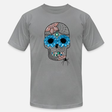 South Seas Sugar Skull South Seas - Men's Fine Jersey T-Shirt