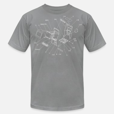 Blast City Exploding Candy [BC] - Men's Jersey T-Shirt