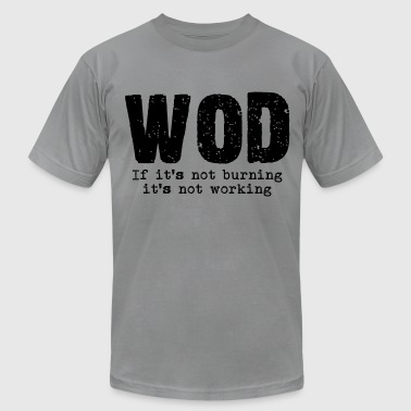 WOD  - Men's Fine Jersey T-Shirt