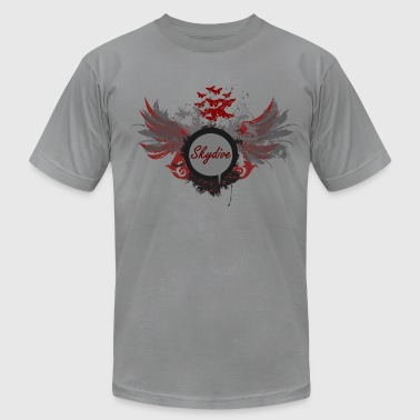 Skydive With Wings - Men's Fine Jersey T-Shirt