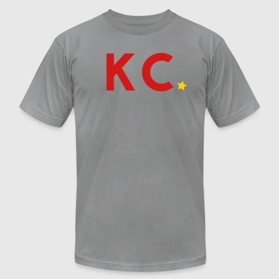 The Collective | KC - Red - Men's T-Shirt by American Apparel