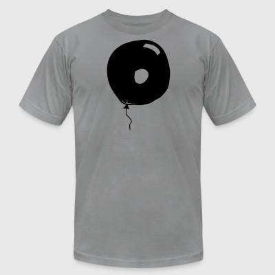 Number zero, balloon, 0 - Men's T-Shirt by American Apparel