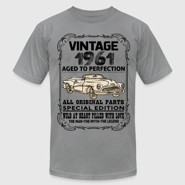 VINTAGE 1961-AGED TO PERFECTION - Men's Fine Jersey T-Shirt