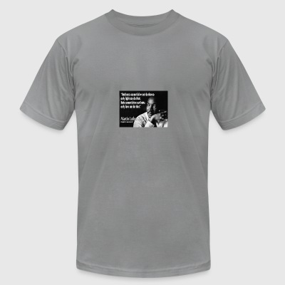 exclusive Martin Luther King Jr collection - Men's T-Shirt by American Apparel