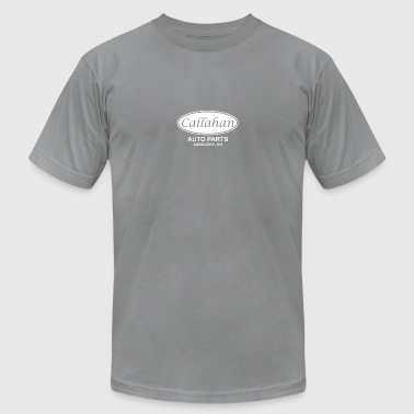 Callahan Auto Parts - Men's T-Shirt by American Apparel