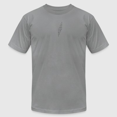 surge fade logo - Men's T-Shirt by American Apparel