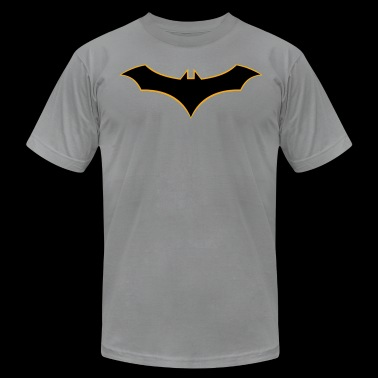 Batman Rebirth Logo - Men's Fine Jersey T-Shirt