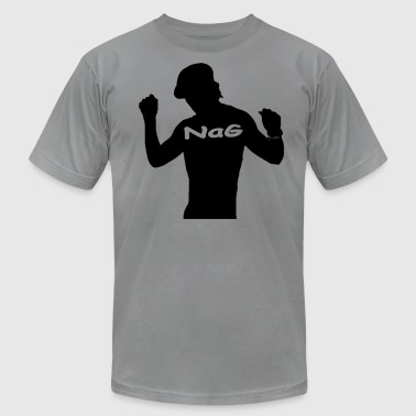 Hipster NaG - Men's T-Shirt by American Apparel