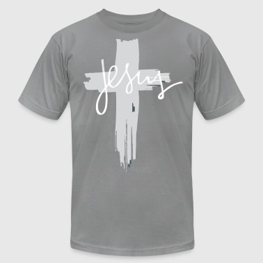 Jesus Cross T-Shirt |Christianity T-Shirts - Men's Fine Jersey T-Shirt