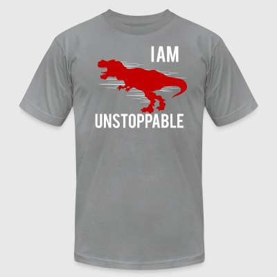 I am unstoppable - Men's T-Shirt by American Apparel