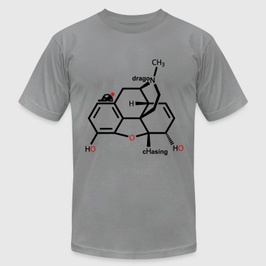 Opiate Molecule - Men's Fine Jersey T-Shirt