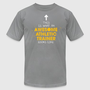Awesome Athletic Trainer Looks Like - Men's Fine Jersey T-Shirt