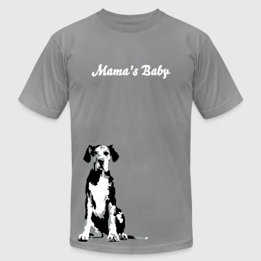 Stan Merle Great Dane Puppy - Men's Fine Jersey T-Shirt