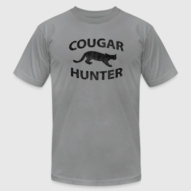 Cougar Hunter - Men's Fine Jersey T-Shirt