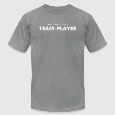 Teamplayer 5 (2174) - Men's T-Shirt by American Apparel