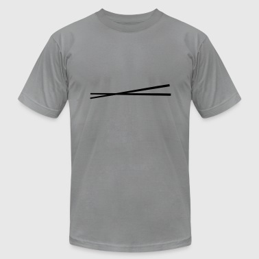 chopsticks - Men's Fine Jersey T-Shirt