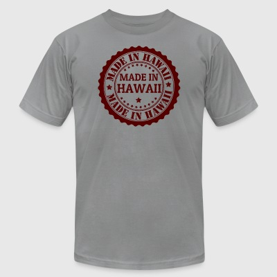 Made in Hawaii - Men's T-Shirt by American Apparel