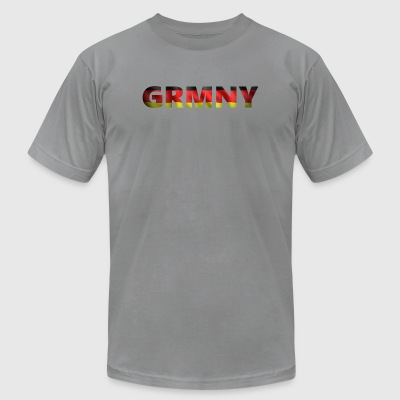 Germany 1 (2540) - Men's T-Shirt by American Apparel