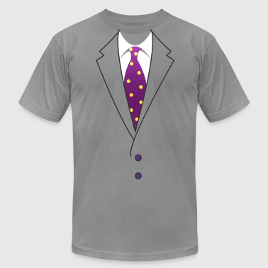 Suit & Tie - Men's Fine Jersey T-Shirt