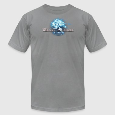 Weeaboo Warcraft - Men's T-Shirt by American Apparel