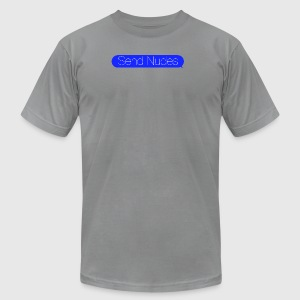 SendNudes - Men's T-Shirt by American Apparel