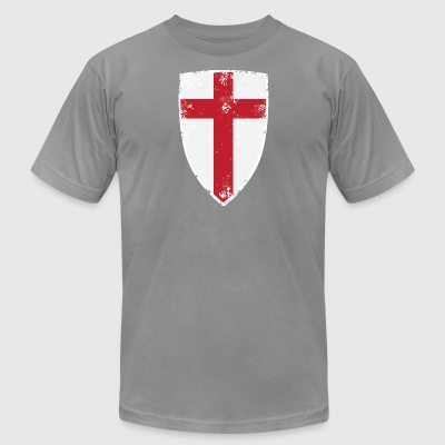 Flag of England - Men's T-Shirt by American Apparel