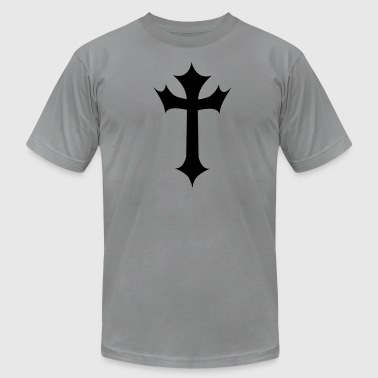 gothic cross with another warp - Men's Fine Jersey T-Shirt