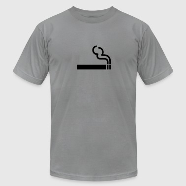 Cigarette - smoking - Men's Fine Jersey T-Shirt