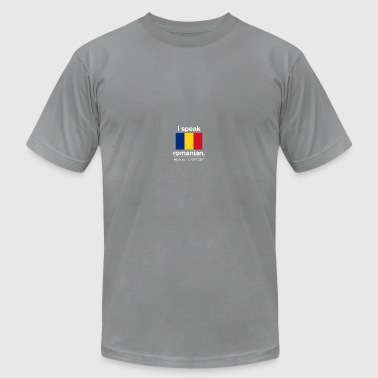 SUPERPOWER romanian - Men's Fine Jersey T-Shirt