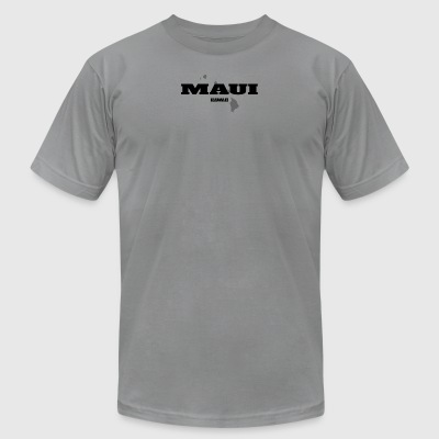 HAWAII MAUI US STATE EDITION - Men's T-Shirt by American Apparel