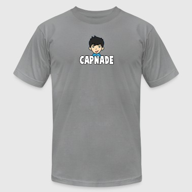Basic Capnade's Products - Men's T-Shirt by American Apparel