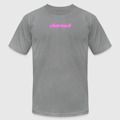 Charmed Typography - Men's T-Shirt by American Apparel