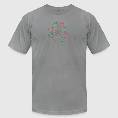 traditional ornamental texture - Men's T-Shirt by American Apparel